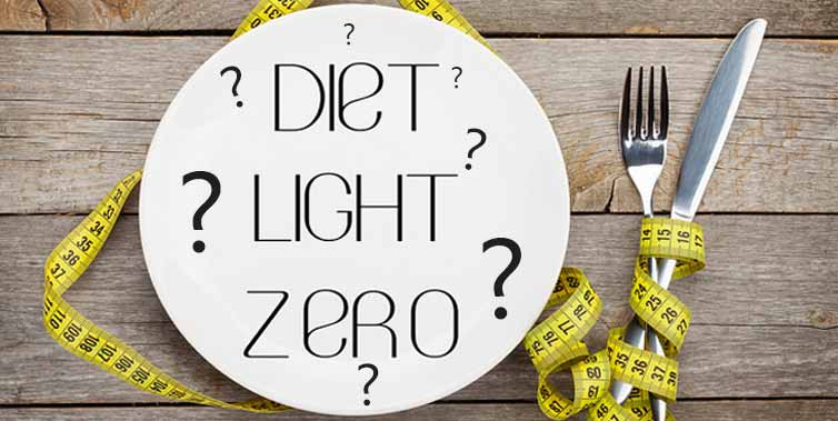 Você sabe a diferença entre Diet, Light e Zero?